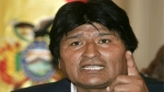 Evo Morales asado con Chile 