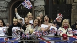 Felicidad invade Londres por 'Boda Real'