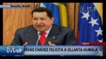 Hugo Chvez felicit a Ollanta Humala 