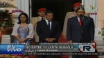 Ollanta se rene con Hugo Chvez