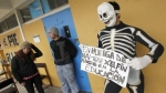 Sigue la protesta estudiantil en Chile 