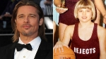 Brad Pitt era la 'nia bonita' de su escuela