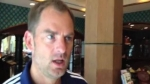 Ronald de Boer lleg para la despedida del 'Chorri'