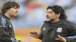 Diego Maradona defiende a Messi 