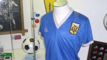 La camiseta de Maradona del Mundial Mxico 86