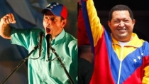 Henrique Capriles dispar contra Hugo Chvez