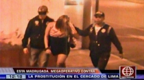 Policía intervino a 60 travestis y meretrices