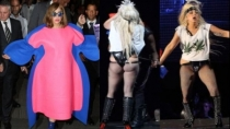 Lady Gaga se siente bien con sus rollitos