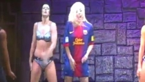 Lady Gaga es hincha del Barcelona
