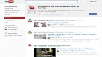YouTube lanza nuevo diseo