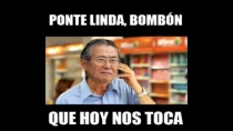 Vacilan a Alberto Fujimori en las redes sociales