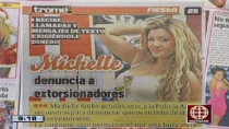 Michelle Soifer denunci a extorsionadores