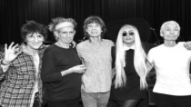 Lady Gaga fue invitada en show de The Rolling Stones