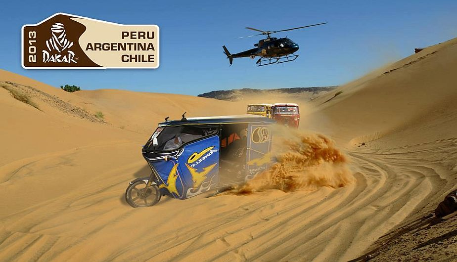 autos, twitter, facebook, redes sociales, mototaxi, rally dakar 2013
