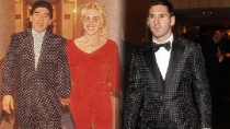 El traje de Messi ya lo haba usado Maradona