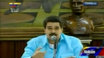 Maduro dice que avanza recuperacin de Chvez