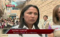 "Nadine Heredia: ""No persigo ningún interés"""
