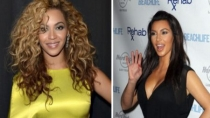 Kim Kardashian sin roches con Beyonc