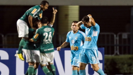 Sporting Cristal cay 2-1 ante Palmeiras