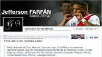 Jefferson Farfn salud a Alianza por sus 112 aos