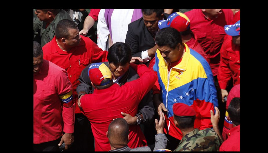 fotos, venezuela, funeral, muerte de hugo chavez