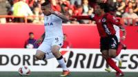 Paolo Guerrero no la vio ante Tijuana 