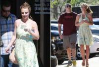 Britney Spears no se cambia de vestido en dos das 