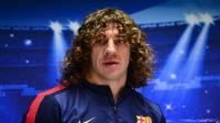 Carles Puyol fue operado de la rodilla
