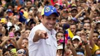 Henrique Capriles ningune a Nicols Maduro 