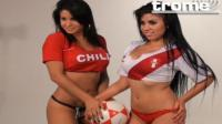 VIDEO: Carolina y Shirley gozaron con triunfo peruano