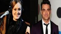 Adele grabaría disco con Robbie Williams