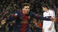Lionel Messi le tiene ganas al Paris Saint Germain