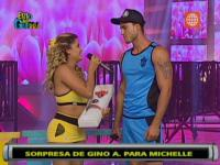 Gino Assereto se amist con Michelle Soifer