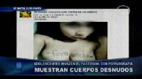 Adolescentes muestran sus cuerpos en Facebook