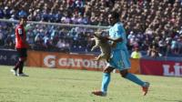 Un perro paraliz el partido Melgar-Cristal