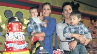 Karla Tarazona y Leonard Len se juntaron por su hijo