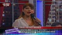Angie Jibaja debut como cantante