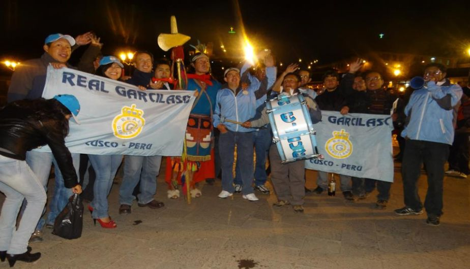 real garcilaso, descentralizado 2013, hinchas cusque