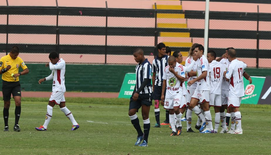 alianza lima, futbol peruano, inti gas, descentralizado 2013