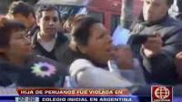 Hija de peruanos fue violada por maestra