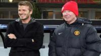 Alex Ferguson alab a David Beckham