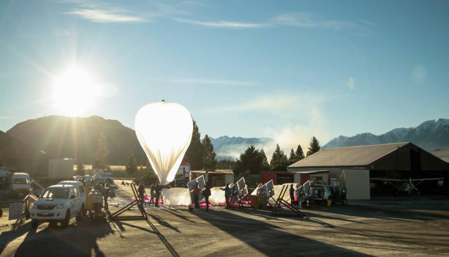 internet, google, globos, nueva zelanda, project loon, google x