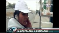 VIDEO: Borrachas cortan oreja y asaltan a emolientera