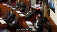 VIDEO: Congresistas se mentan la madre en el Pleno