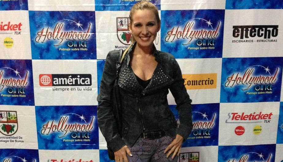 artistas, farandula peruana, jockey club del peru, hollywood on ice