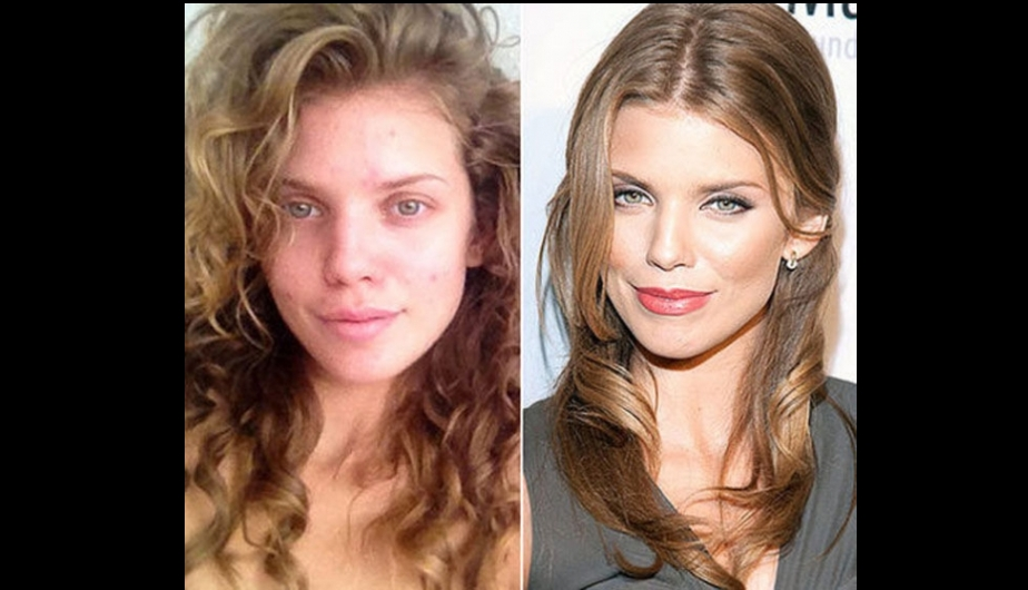 hollywood, glamour, maquillaje, antes y despues