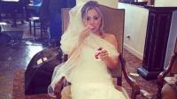 "Kaley Cuoco de ""The Big Bang Theory"" alborotó Instagram vestida de novia"