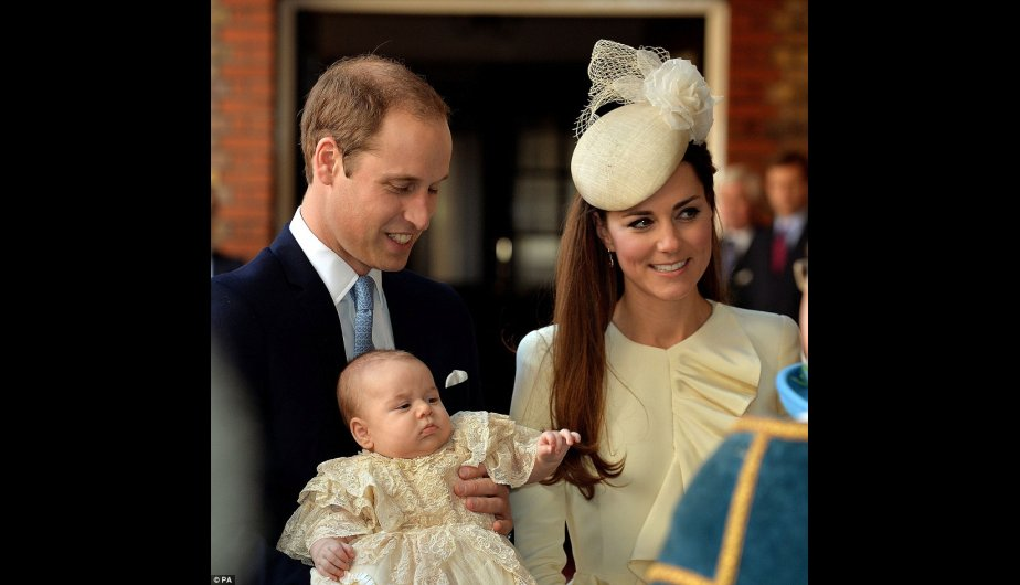principe guillermo, kate middleton, principe george