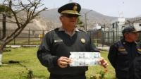 Fabricaban billetes falsos en Penal de Lurigancho - Noticias de general pnp