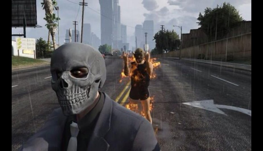 fotos, videojuegos, grand theft auto v, selfies